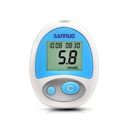 Connaught một máy đo đường huyết 25 mảnh giấy thử nhà máy đo đường huyết đã được dùng trong y khoa đ