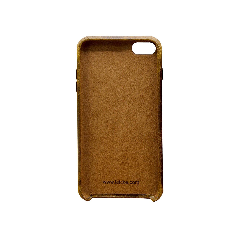 Đức Leicke Lake Apple iphone8/7plus nứt vỏ điện thoại cổ điển hoài cổ rùa 8/7plus thật táo iphone8/7