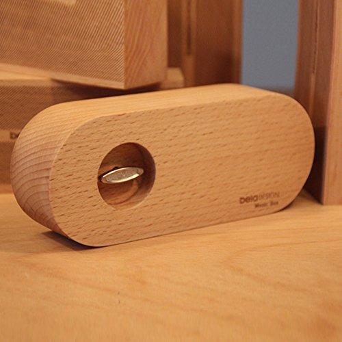 BelaDESIGN đã thiết kế khí quyển rất đơn giản. Gỗ hộp nhạc Music Box chạm cái này tùy chỉnh của món