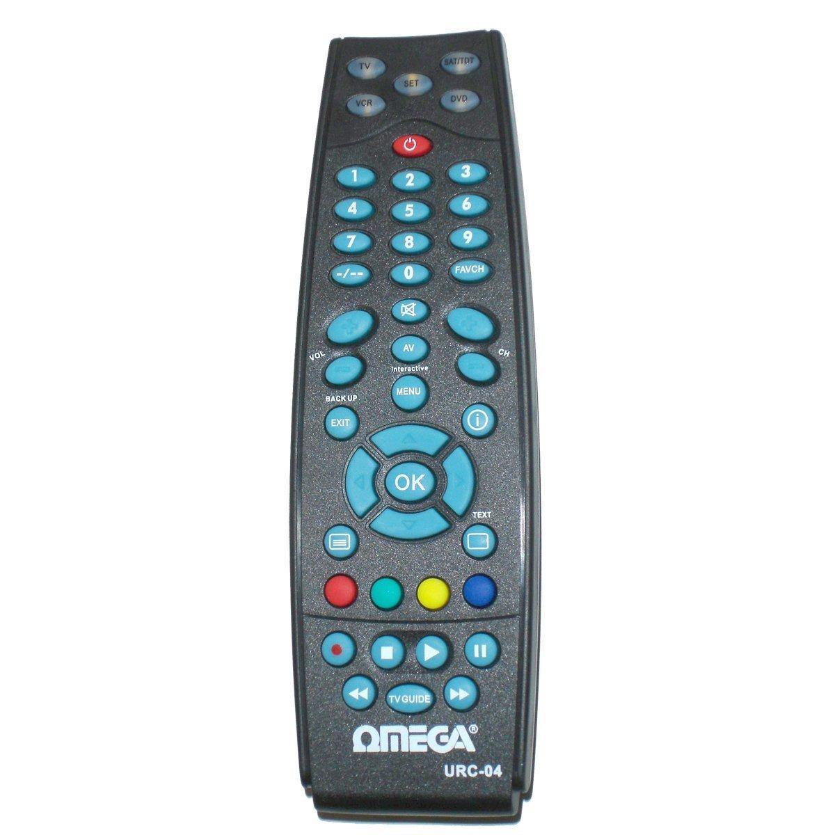 Điều khiển từ xa  OMEGA 4 tổng hợp 1 cái điều khiển.