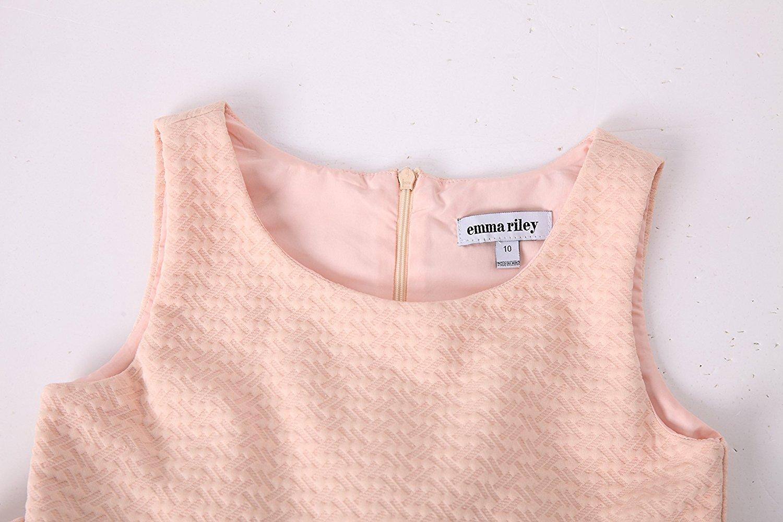 Emma RILEY nữ không tay nhiều nếp gấp trăm chiếc váy vải đan len từ bữa tiệc