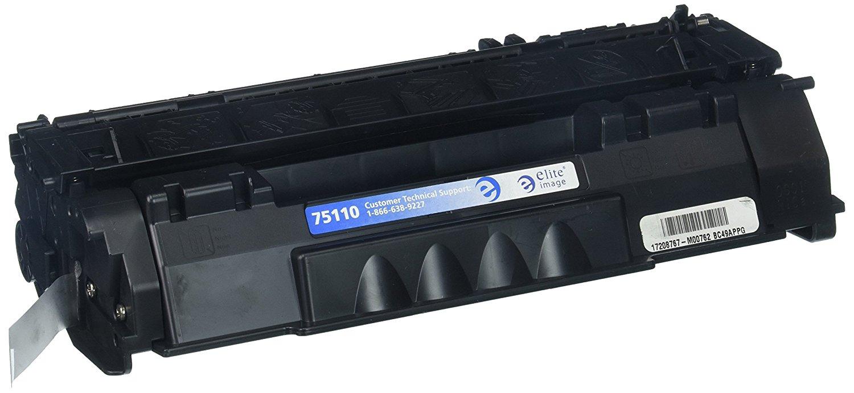 Hình ảnh tinh nhuệ eli75110 tương thích thay thế Hewlett - Packard q5949a (49A), Black.