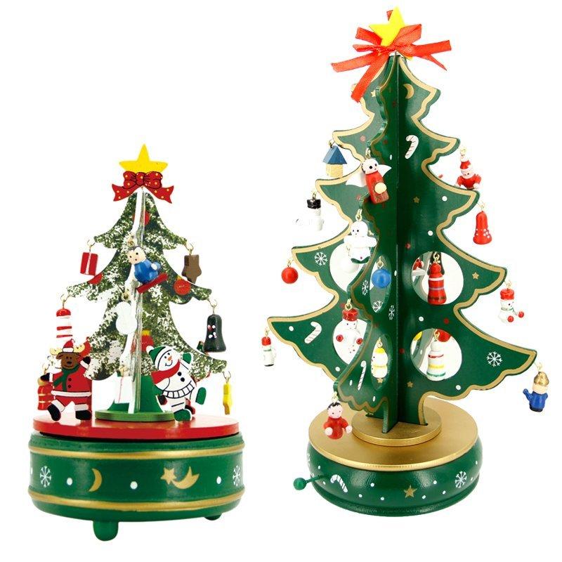 Lấy Nga mới là đề tài gỗ cây Giáng sinh Music Box B +C khoản tiền.