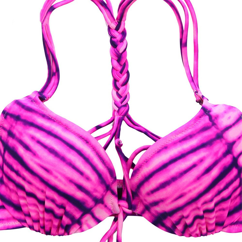 ELLE đồ lót tem sexy bikini điểm cơ thể một bộ đồ tắm 7ZP0009+7ZB0013