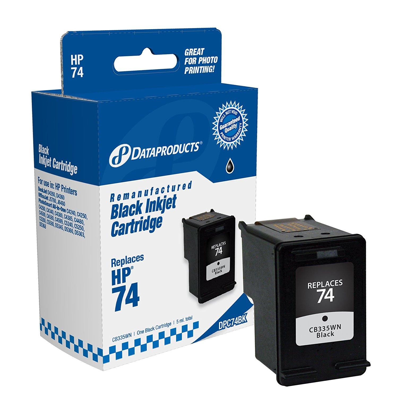 Sản phẩm tái tạo dữ liệu hộp dpc74bk thay cho HP # 74 (cb335wn) (đen)