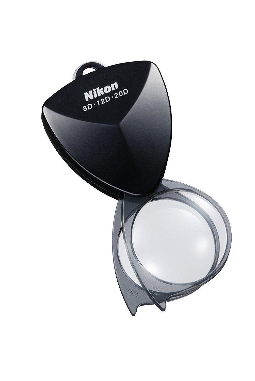 Nikon bàn tay loại kính lúp mới loại túi đen 20 d kính lúp