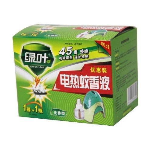 Nhang muỗi dịch 45 đêm sưởi điện viridis gửi điện thiết bị môi trường nhang muỗi không thơm, không m