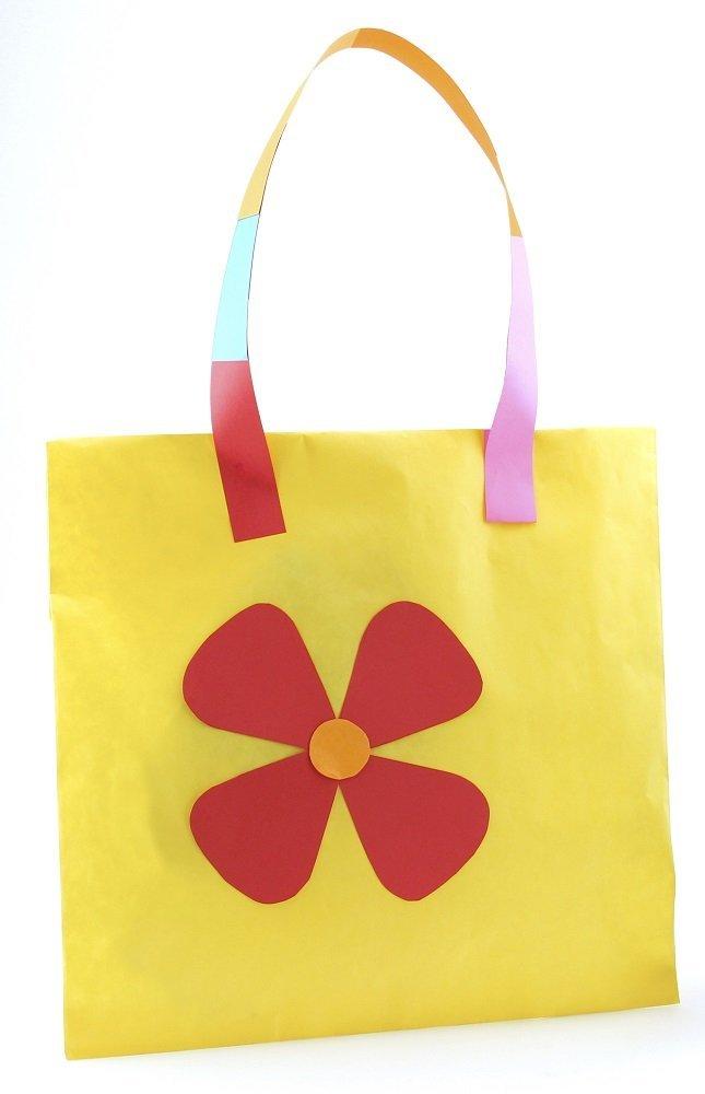 Hygloss 51014 túi giấy màu, 14 cái túi, bắt đáy, versicolor, 30.48 38.1 cm x