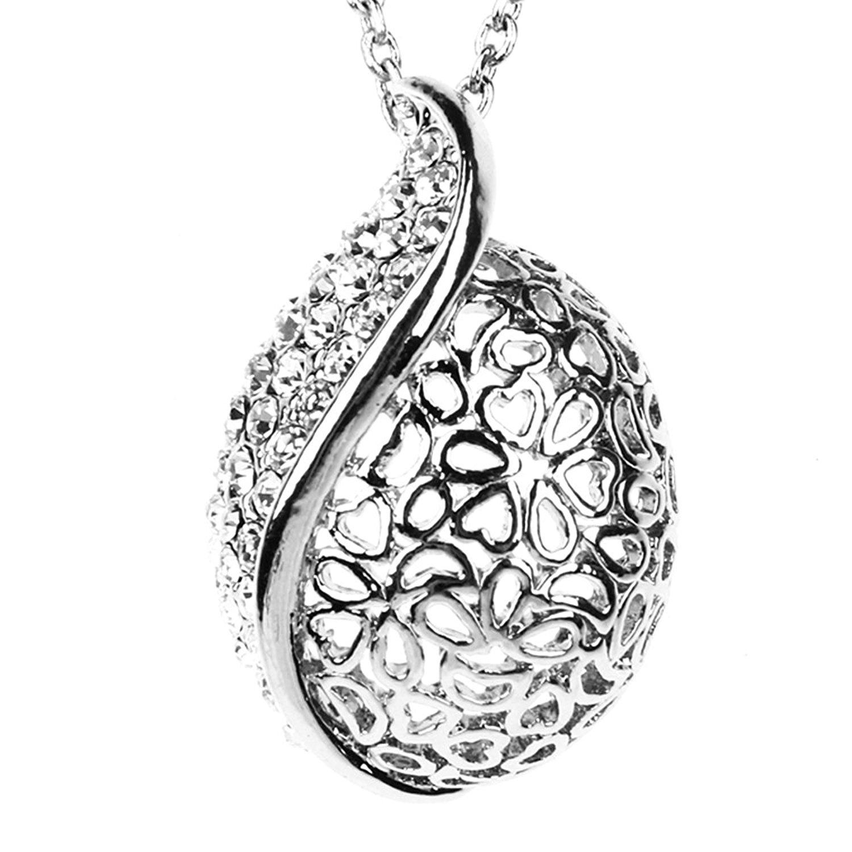 Che Bella Thật là đẹp Nhãn hiệu trang sức đẹp ý pha chạm rỗng mô hình chuỗi dây chuyền bạc sợi len m