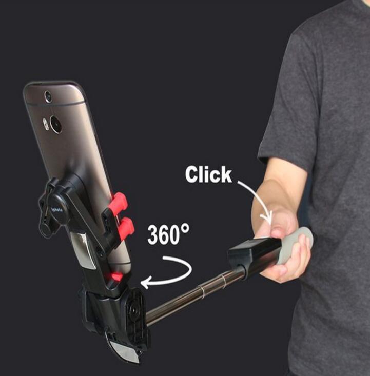 Gậy tự sướng Gậy hỗ trợ tự chụp ảnh 360 độ điện thoại quay 360 Smart rotation selfie stick gậy hỗ tr