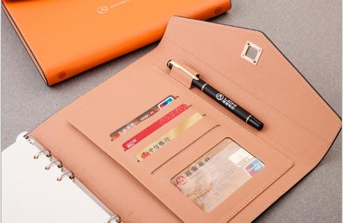 Sổ lò xo trang rời Thương mại hàng Pu laptop cao cấp giấy rời bản Notepad có thể ấn logo A5 sổ văn p