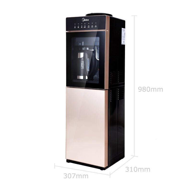 Midea đẹp máy cao cấp nước MYD827S-W dạng tháp làm lạnh, nước nóng và lạnh loại máy điện tử sôi gan
