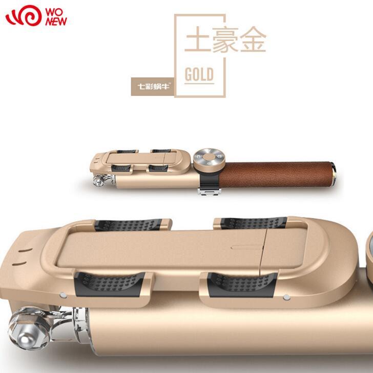 Gậy tự sướng WONEW gậy hỗ trợ tự chụp ảnh nhôm hợp Kim Thanh kéo dài ba thế hệ điện thoại Bluetooth