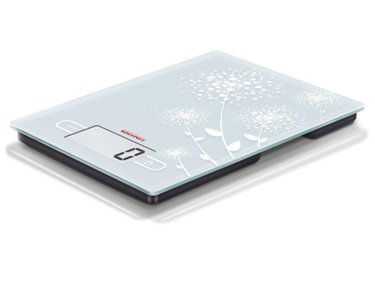 Soehnle 65115 kính mờ thiết kế điện tử được gọi là số nhà bếp.