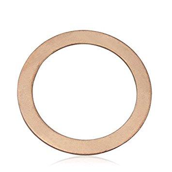 Đồng đỏ miếng chêm đệm niêm phong kín tàu đệm lót chuồng bằng đồng đỏ con dấu dầu đồng đỏ Mats Φ 8 -