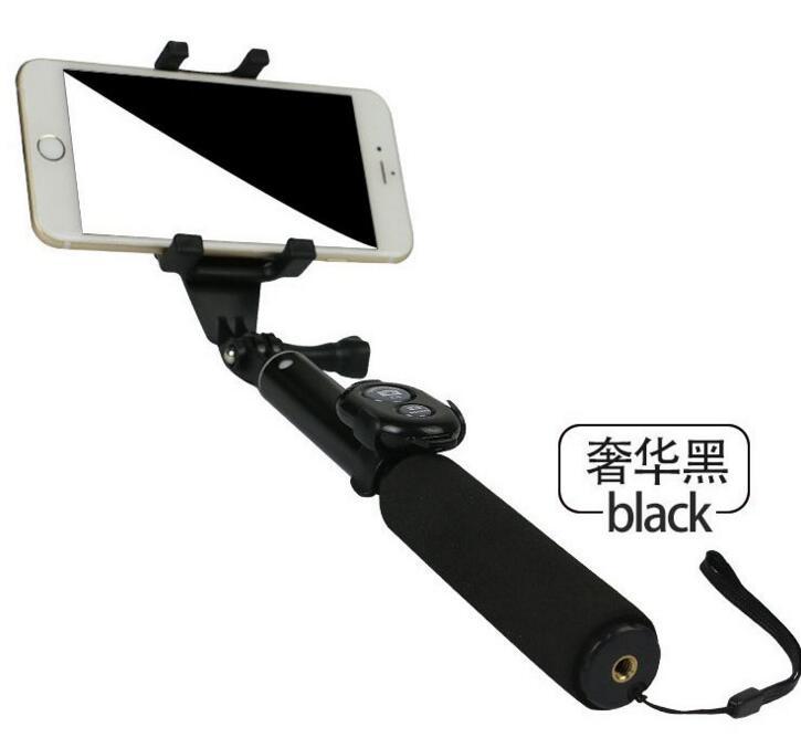 Gậy tự sướng Điện thoại di động Bluetooth chụp tự sướng cái kiềng ba chân nhôm ảnh tự chụp ảnh tự sư