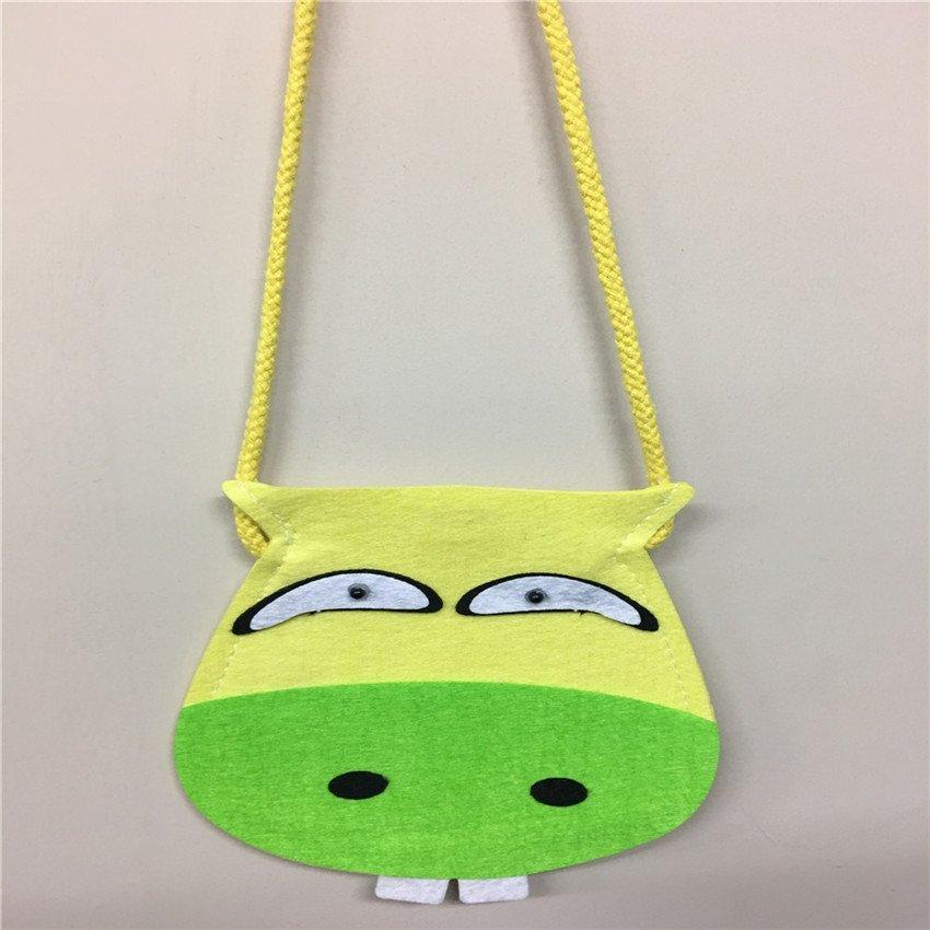 Shu ju vải động vật hoạt hình sáng tạo cho trẻ em trẻ em phụ kiện dây chuyền nhỏ ví lều được trang t
