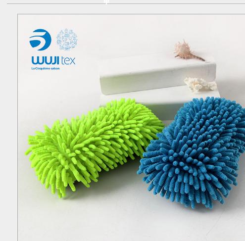 Các nhà sản xuất WUJI 8 miếng bọt biển đô rửa xe lau xe không bị Thương Sơn