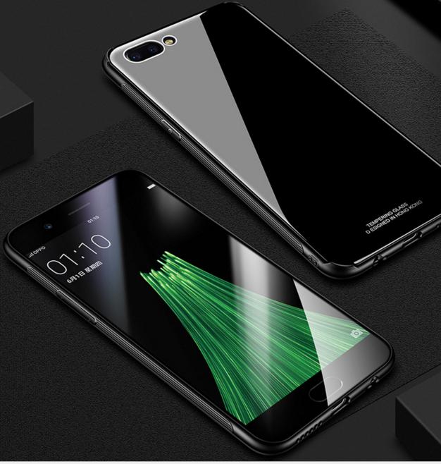 OPPO Quỷ R11 pratensis OPPO vỏ điện thoại mới R11s Plus kính chống đạn. Bảo vệ vỏ silica gel chống n