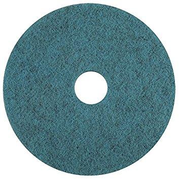 Americo 403359 tự nhiên tạo ra màu xanh pha trộn sợi tự nhiên cao tốc burnishing sàn Mats (5 người n
