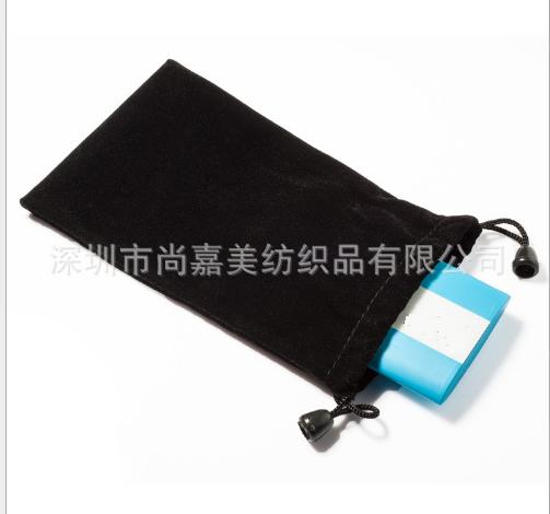 Túi vải nhung Nhung cái túi gậy hỗ trợ tự chụp ảnh các nhà sản xuất điện thoại di động sản phẩm điện