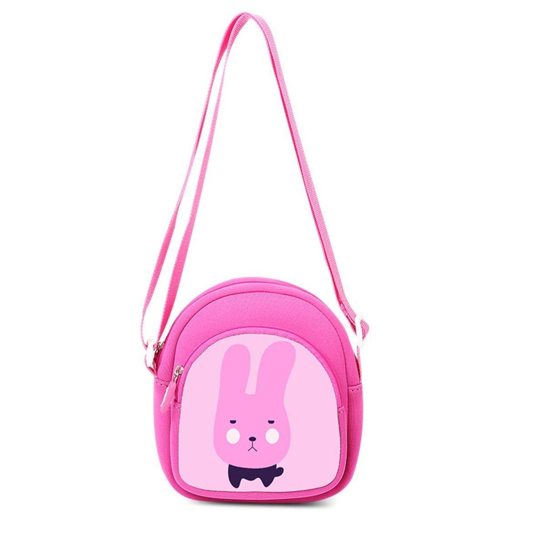 UEK phim hoạt hình trẻ em dễ thương, chéo tay nải ♥ xiên chéo thỏ cái túi xắc cốt thời trang trẻ mẫu