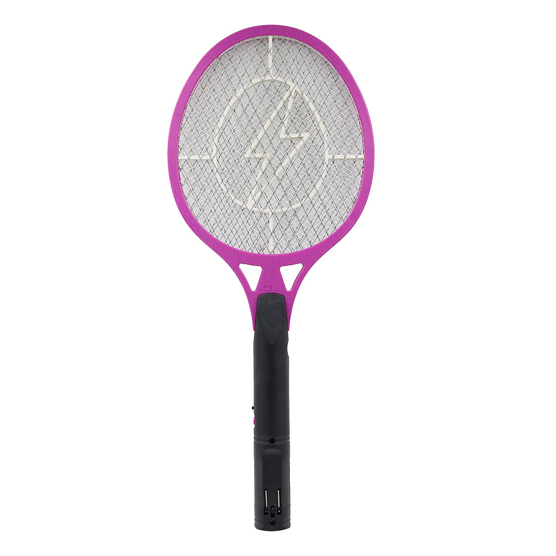 Trang điểm điện bắn điện vỉ đập ruồi muỗi bắn bắn P003B màu tím.