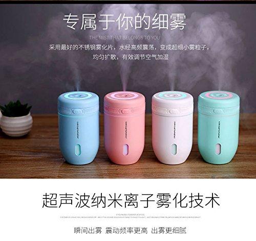 Ý tưởng Moe ly mini máy tạo ẩm không khí đèn tự động tắt [ xoá bụi chống khô đốt đèn có thể xác định