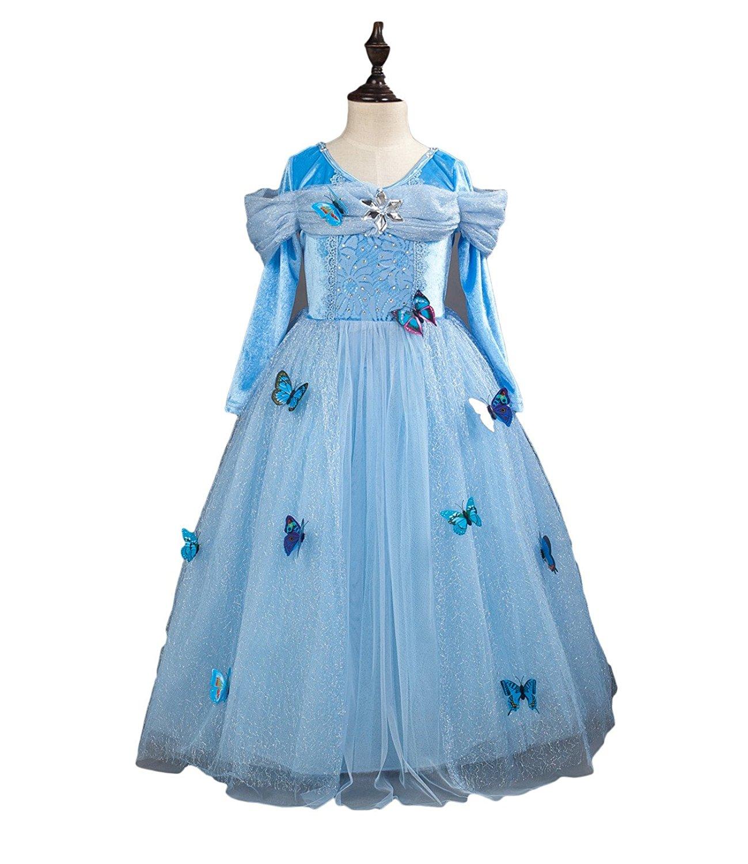 Finesdear Công chúa Xuân váy váy áo cưới công chúa