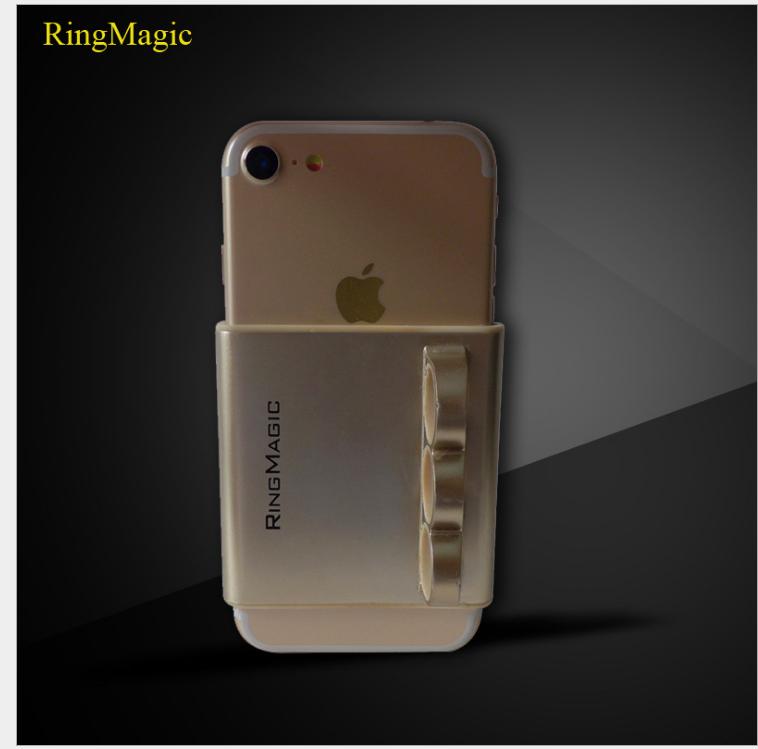 Giá đỡ điện thoại  New creative apple 7RingMagic single hand operation three ring brackets Apple han