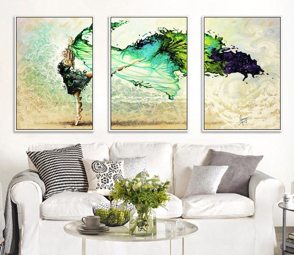Bốn màu viền trang trí đơn giản. Phòng khách tùy chọn) hiện đại có vẽ bức họa vẽ hộp cao cấp nhà hàn