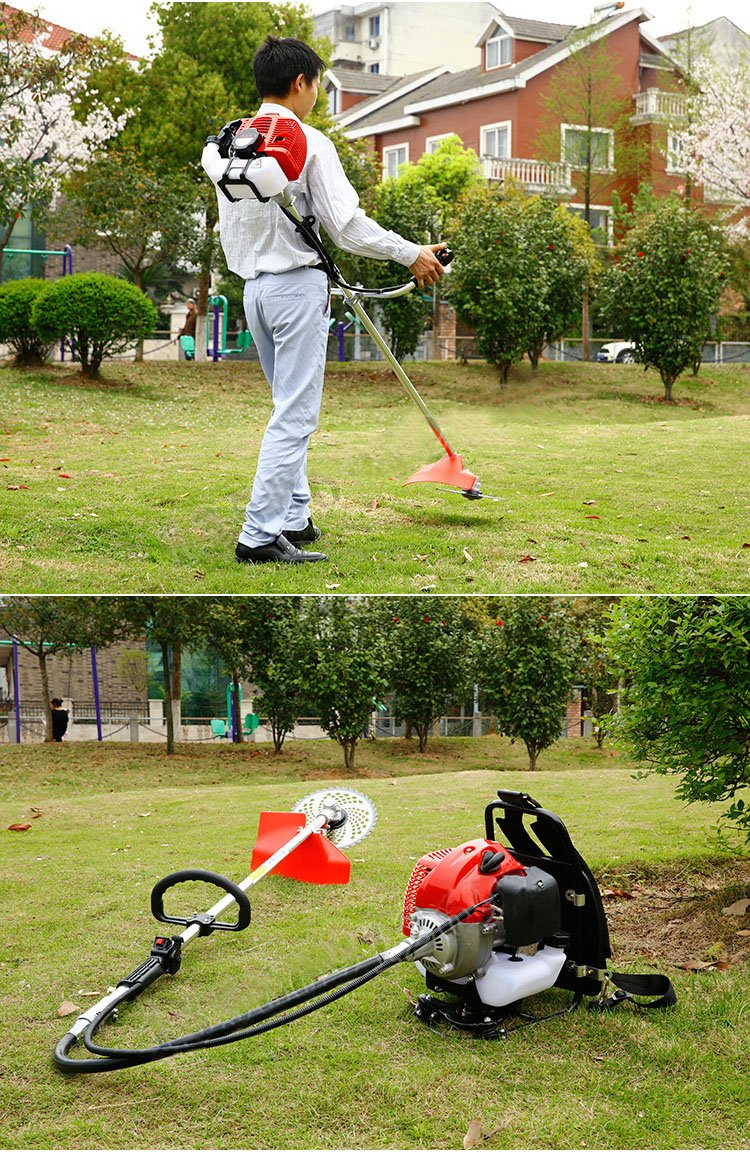 Erebus rừng Seoul cắt hai nét bên treo kiểu máy máy xăng điện máy cắt cỏ làm cỏ lúa Reaper hai nét b