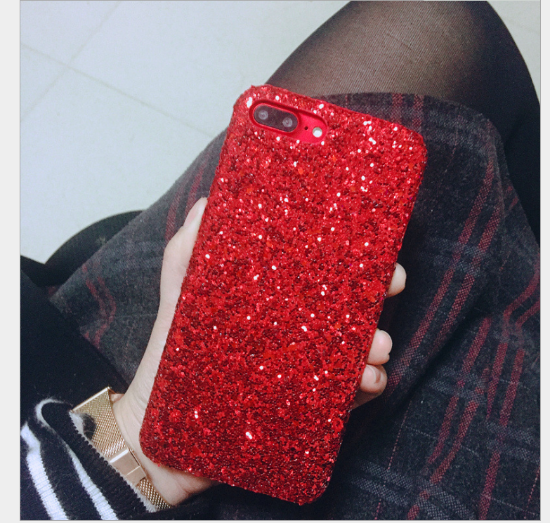 Case iPhone  VivoX9S OPPOR11 Flash - Sequins. Điện thoại vỏ bột x20plus mới né R9plus bảo vệ vỏ bột