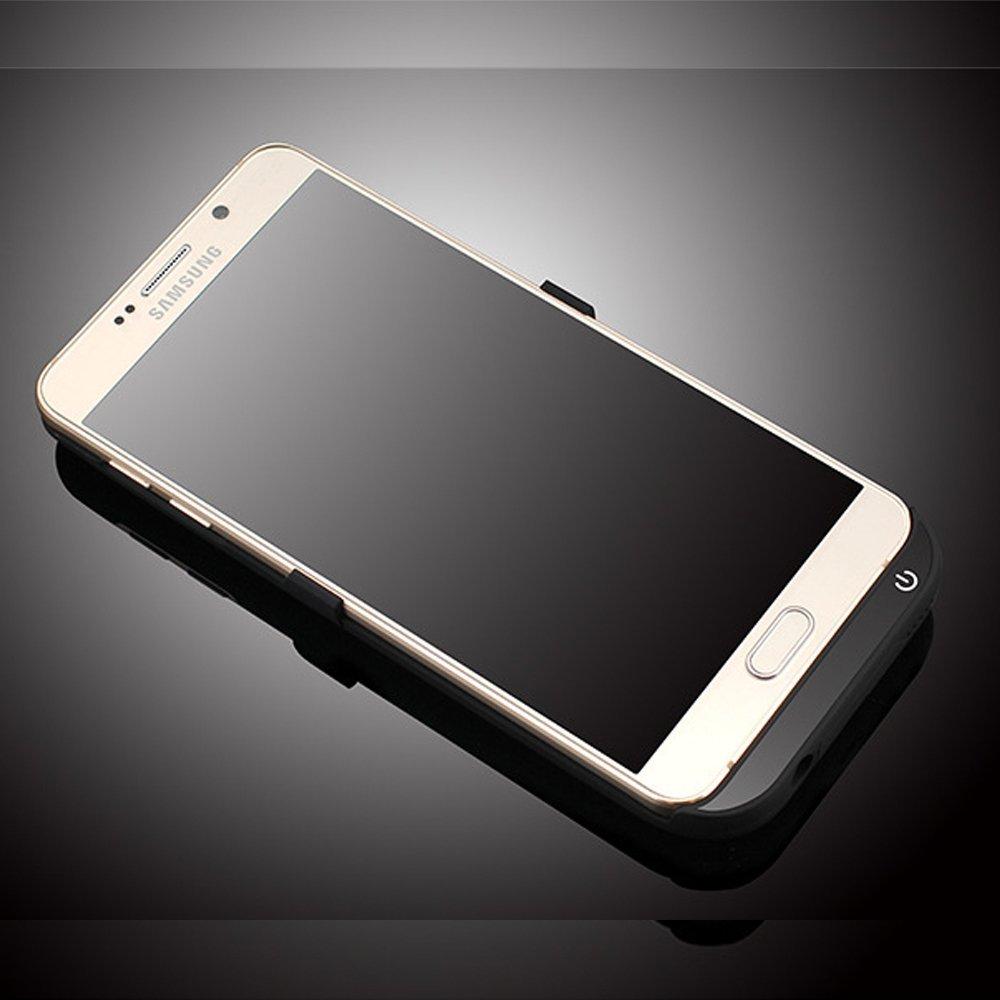 Suoshi Samsung Note5 clip lưng pin sạc không dây mỏng 5800 ma báu di chuyển điện n9200 bảo vệ bộ sạc
