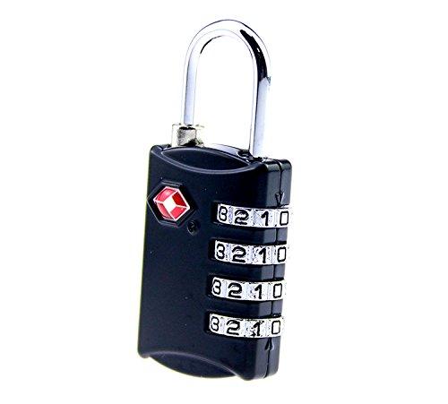 Hành lý. TSA309 hải quan mật mã khóa 4 khoá chống trộm luggage khóa Hành lý sao? Cái khoá móc đòn bẩ
