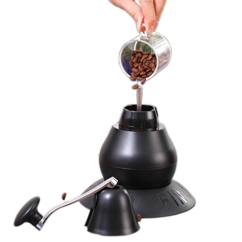 Finum cà phê xay đậu thủ công, nhà máy cà phê Grinder small máy xay nước Đức