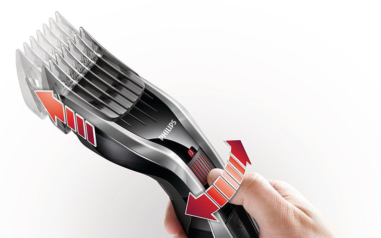 Philips HC5440/16 thiết bị kỹ thuật cắt tóc, cạo 2 / điện, pin, kim loại đen Schwarz Silber / 1 - Pa