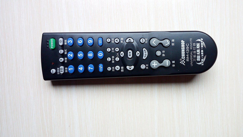 Điều khiển từ xa  RM-139C TV Remote. Các hợp