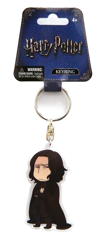 Harry Potter phong cách dễ thương Severus Snape móc chìa khóa một phụ kiện.