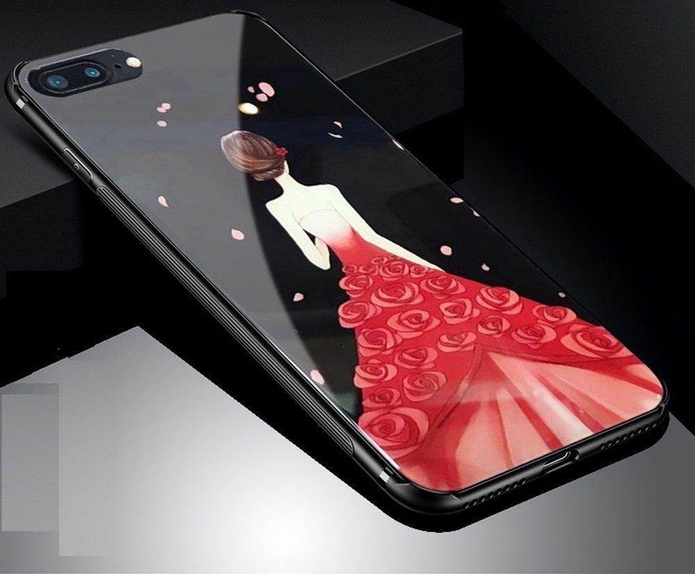 YinShang   Nhà Ân thời gian kính vỏ điện thoại di động iphone7 bộ táo iPhone8 cộng thêm vỏ điện thoạ
