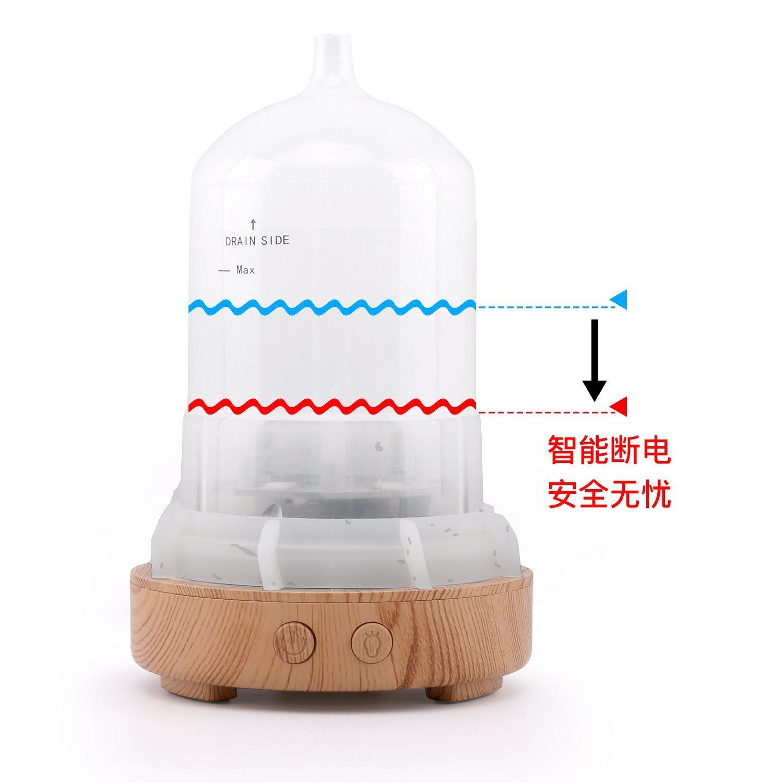 MoKo 3D Mỹ máy tạo ẩm không khí, 100ml siêu âm trong không khí, máy tạo ẩm không khí màu máy tạo ẩm