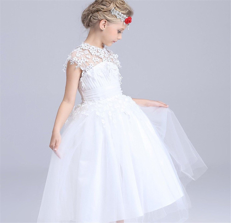 Finesdear Thu khoản nữ công chúa áo váy áo váy nữ váy váy áo váy cưới Lacey Pompont váy áo thêu cô g