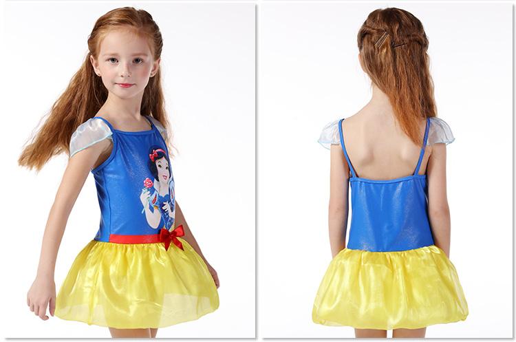 Bộ đầm xanh váy vàng công chúa Bạch Tuyết