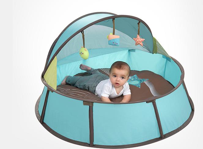 Babymoov Pháp chống tia cực tím, nhỏ bé đi chơi trẻ em trong nhà lều bên ngoài lều sẵn sàng