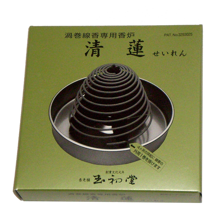 Nhà thờ của Ngọc hương dây vòng xoáy nhang muỗi (hộp vào) # 2816