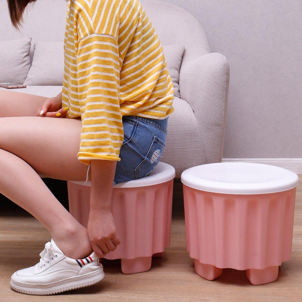 (mua một tặng một) bảo tiếp nhận ghế ngồi ghế đẩu có thể trữ vật trưởng thành có thể chồng chất gia