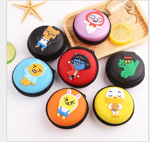 Túi xách cho trẻ em YB09 dễ thương Zero hoạt hình túi ví tai nghe tiếp nhận gói hộp tay sạc lấy đồng