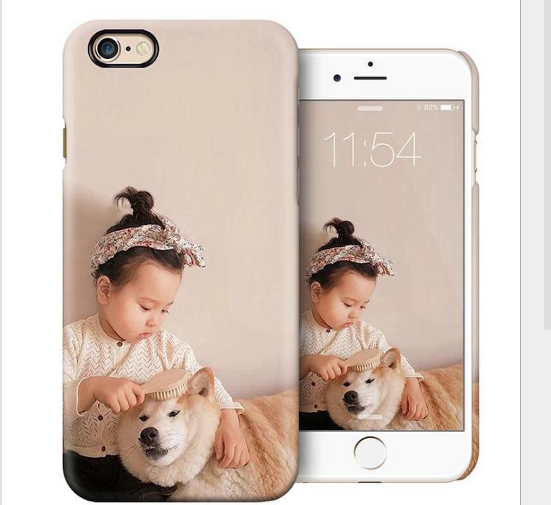 Case iPhone  Tùy chỉnh nhân vỏ điện thoại di động Apple iphone7PC3D nóng vỏ