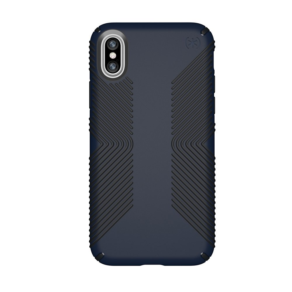speck   Sản phẩm súng bộ binh bảo vệ điểm áp dụng cho iPhone màu xanh đen Nhật thực của X / carbon