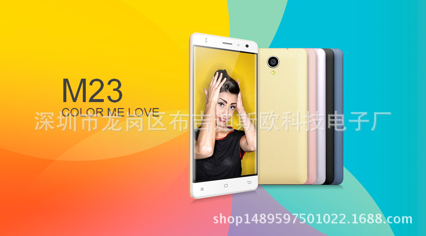 Bán buôn điện thoại mới M23 Foreign Languages 5.0 inch thấp điện thoại Android R8S Messier 18 6S 3G
